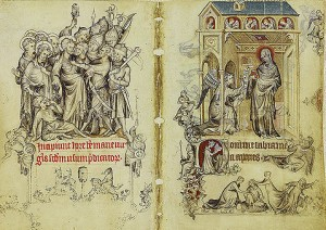 Pages from the Hours of Jeanne D'Evreaux