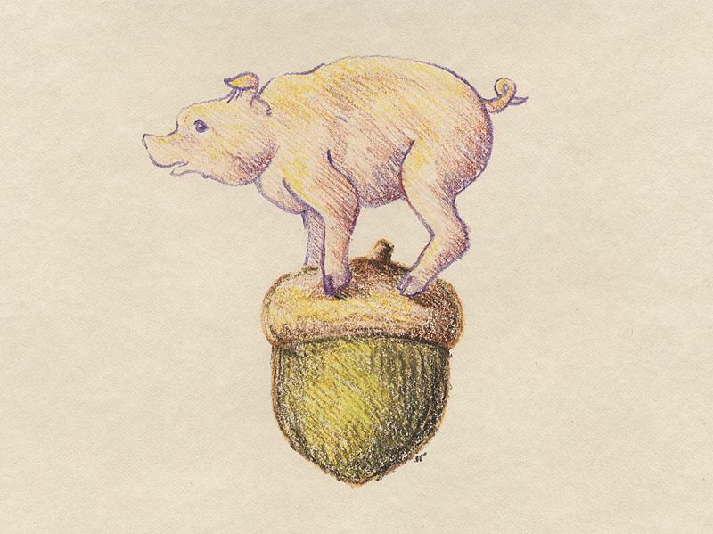 pig_and_acorn