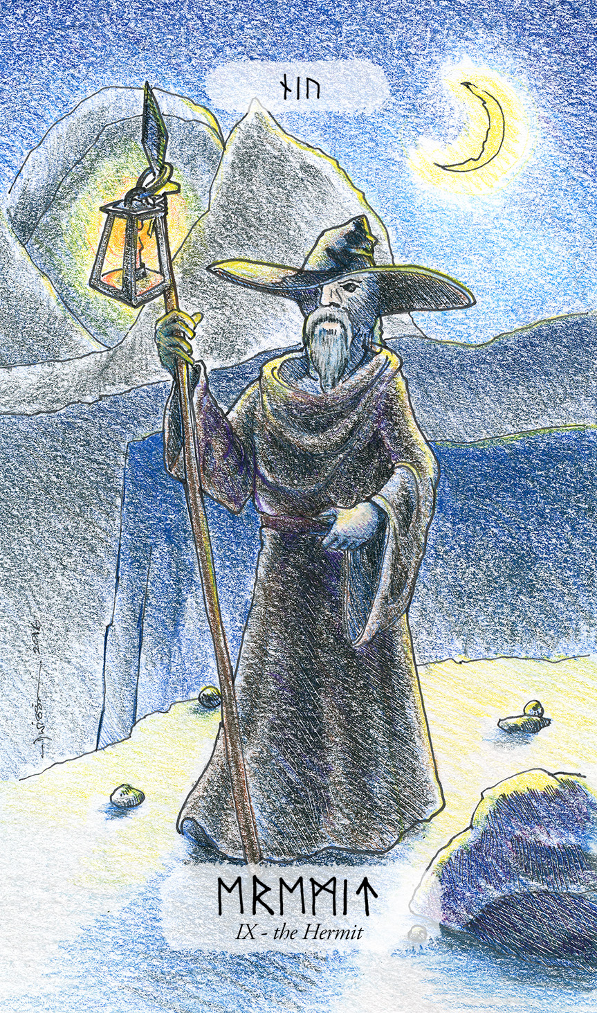 Odin (again) as the Hermit