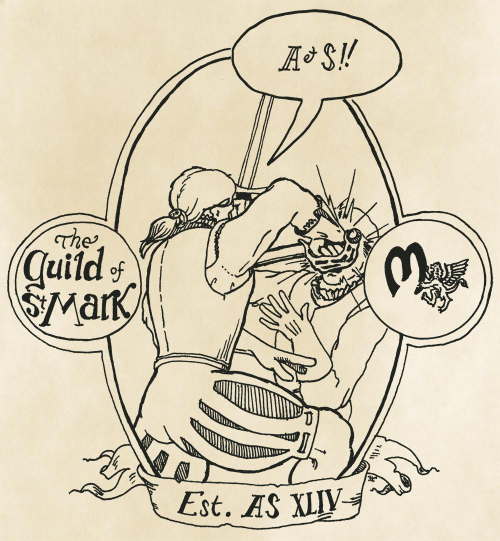 Guild of st. Mark shirt