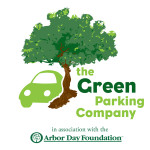 """Parking Company """"Green Parking Company"""" logo"""