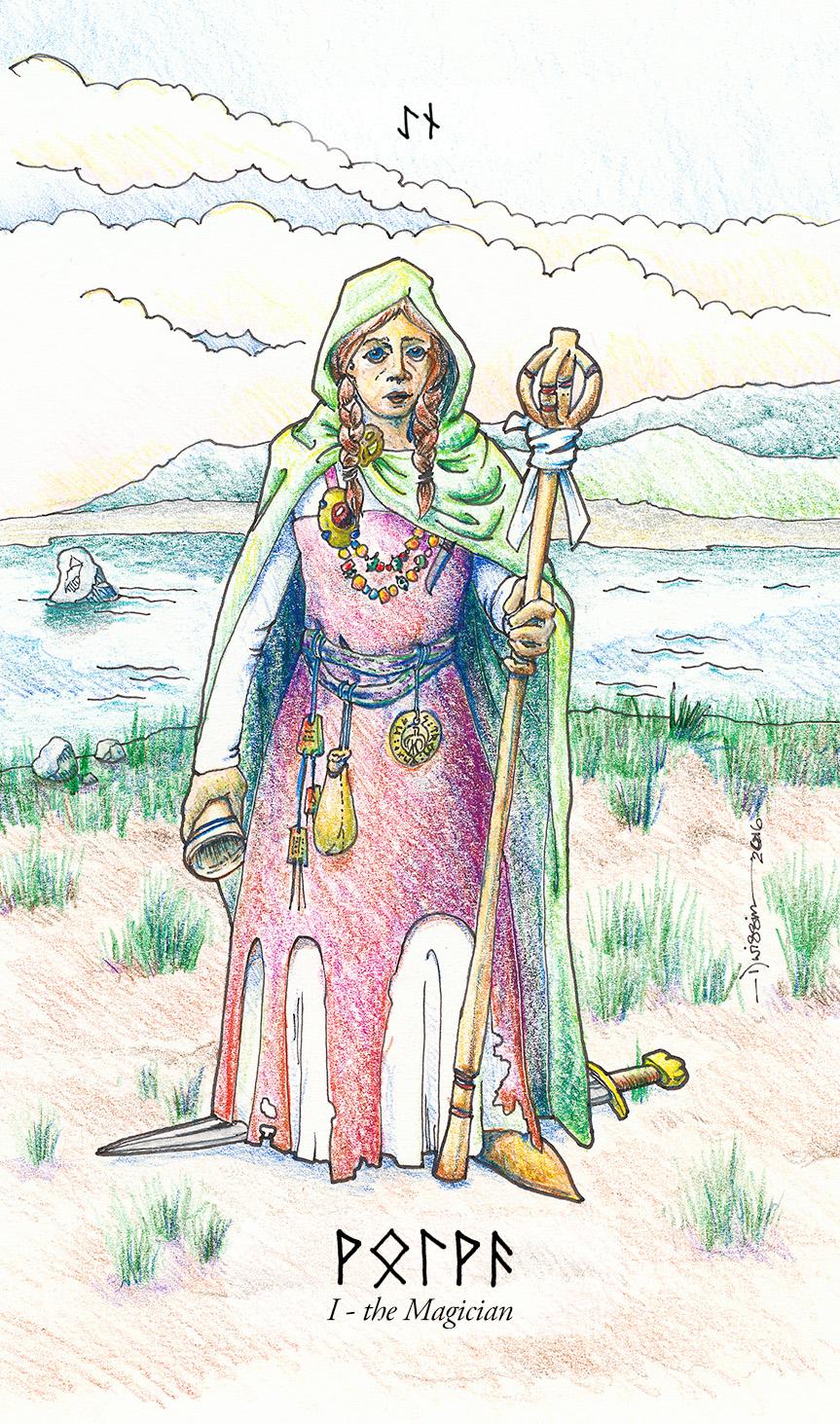 A völva as the Magician