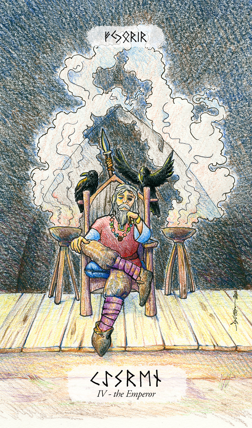 Odin as the Emperor