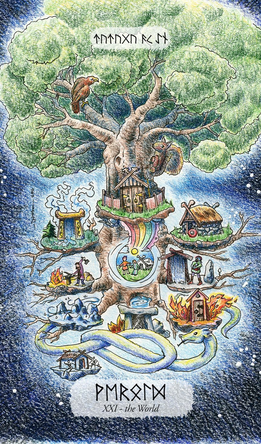 Yggdrasil as the World